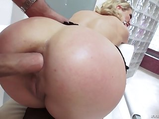 cherie deville gets her ass hole brim with his fat throbbing member