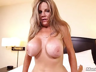 cougar milf rides to victory