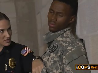 they just want to fuck his black of the day, addicted to interracial sex busty female cops