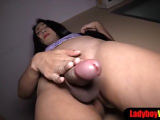 asian ladyboy from pattaya get her asspussy fucked hard