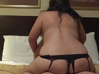 bbw milf riding son's bestfriend